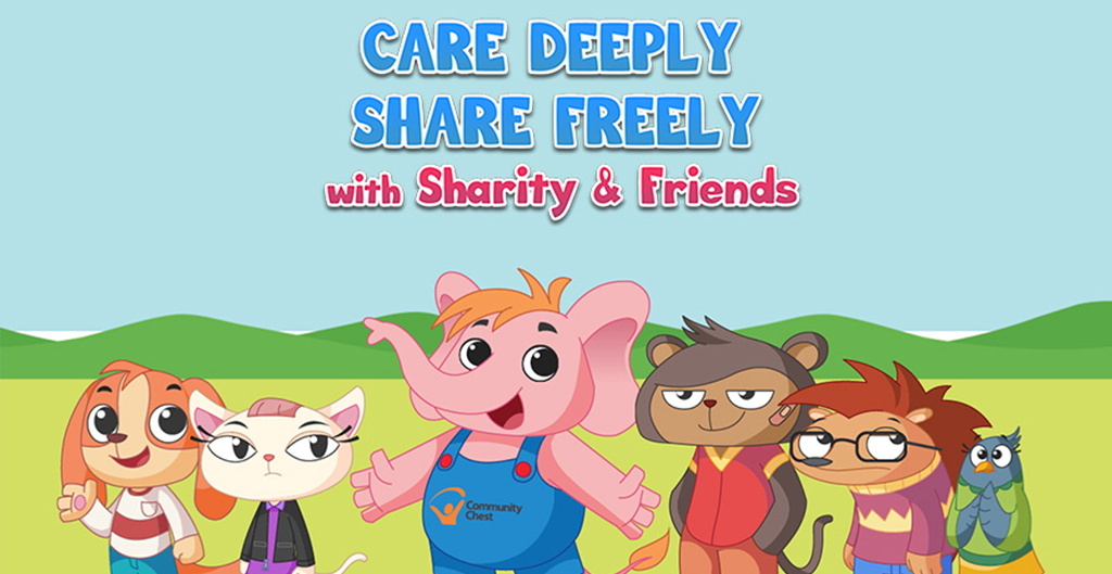 Sharity and Friends Animated Series and Characters Design